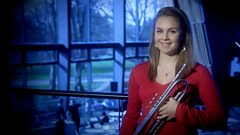 Matilda Lloyd performs Légende by Enescu for BBC Young Musician 2014 Brass Category Final