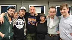 Withered Hand catch up with Marc Riley in the studio