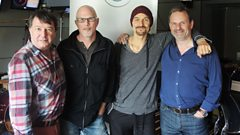 James join Radcliffe and Maconie in the studio