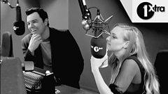 Amanda Seyfried & Seth MacFarlane react to Hugh Jackman German Whip
