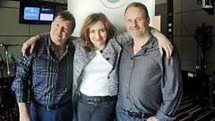 Viv Albertine joins Radcliffe and Maconie in the studio