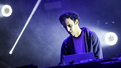 Four Tet on the Park stage