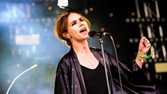 Nina Persson on the Park stage