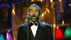 Andrea Bocelli is inducted into the Singers Hall of Fame