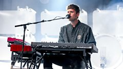 James Blake on the Park stage