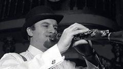 Brian Matthew and Acker Bilk on Saturday Club