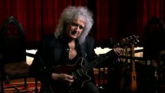 Brian May talks about the Tie your Mother Down riff