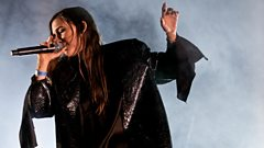 Lykke Li on the John Peel stage