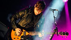Greg James works as a roadie for Royal Blood