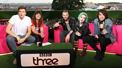 Paramore chat to Jen Long and Greg James