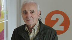 Charles Aznavour charms Steve Wright