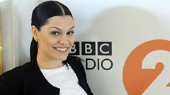 Jessie J pops in to see Steve Wright