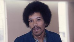 From the Archive: Jimi Hendrix talks to Brian Matthew