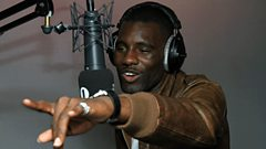 Wretch 32 speaks to Sarah-Jane Crawford