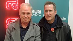 Andy McCluskey and Paul Humphreys of OMD speak to Mark Radcliffe