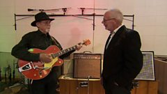 Duane Eddy shows how he wrote his first hit song