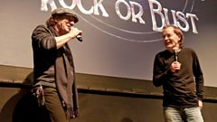 AC/DC in conversation with Lamacq and Keaveny