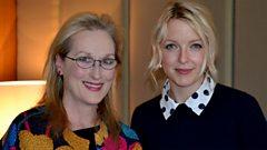 Meryl Streep joins Lauren Laverne