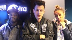 Mark Ronson drops in on Twin & Yasmin