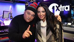 Charlie chats to Tulisa!