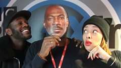 Eddie Murphy chats to Twin and Yas on 1Xtra Breakfast