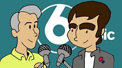 The First Time - Noel Gallagher meets Sir Paul McCartney...in cartoon form.