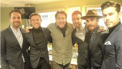 The Overtones chat to Jonathan Ross