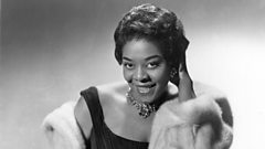 Dinah Washington is inducted in to Michael Balls Singers Hall of Fame
