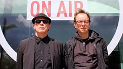 Wire in conversation with Radcliffe and Maconie