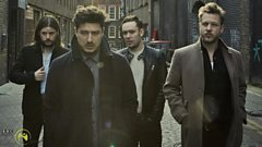 Listen: Mumford & Sons in conversation with Gerry Kelly