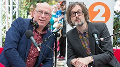 Jarvis Cocker chats to Ken Bruce