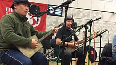 Listen to Alash in session for World on 3