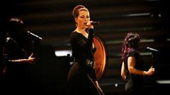 Germany's Ann Sophie performs 'Black Smoke'
