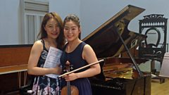 Esther Yoo and Zhang Zuo perform more Beethoven together