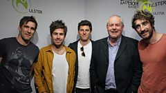The Coronas in session