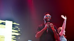 Highlights of Tinie Tempah's set at 1Xtra Live