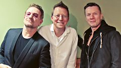 BBC Radio 2 - Simon Mayo Drivetime, Bono and Larry Mullen Jr
