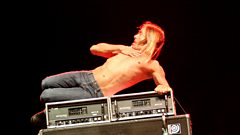 Get up close and personal with Iggy Pop at the Barrowland