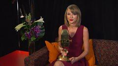 Best International Artist - Taylor Swift