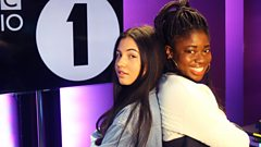 """""""I cried, I'm not gonna lie I cried a lot"""" Mabel chats to Clara Amfo about having Adele for a fan"""