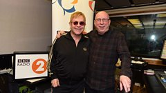 'Through the good times and bad times it's always been there' Elton John on music's impact on his life