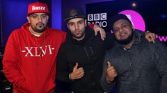 H Dhami gets grilled by Kan D Man & DJ Limelight!