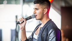 Arjun talks about performing at Asian Network Live