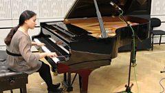 Dinara Klinton plays Liszt live in the studio
