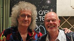 Brian May sends Birthday Greetings