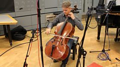 Alban Gerhardt performs Bach live on In Tune
