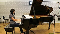 Alexandra Dariescu plays Ginastera live on In Tune