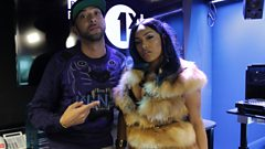 Stefflon Don joins DJ Target in the studio