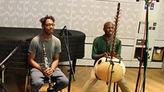 Shabaka Hutchings and Kadialy Kouyaté play live on In Tune