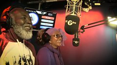 Freddie McGregor & Marcia Griffiths Freestyle for Seani B